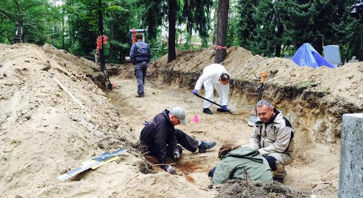 Prace ekshumacyjne w Białymstoku